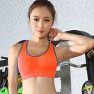 女衣(橘L)(贈長褲)鏤空美背運動內衣女衣速乾工字美背運動內衣褲