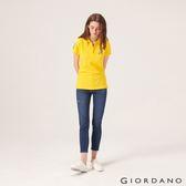 【GIORDANO】女裝縲縈混紡中腰彈力貼身牛仔褲-52 中藍
