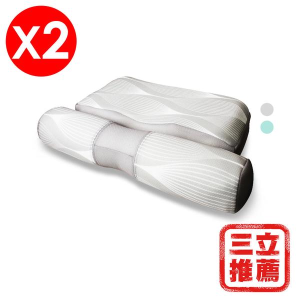 【YAMAKAWA】全方位可調式護頸枕(雙入組)-電電購