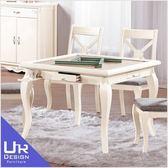 古典奢華風卡蜜拉3.2尺餐桌兼麻將桌(19Z40/1026-1)
