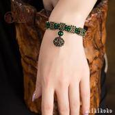 手鍊復古宮廷首飾云南民族風女飾品綠色手珠手串韓版時尚串珠手飾  XY3590  【KIKIKOKO】