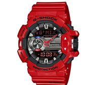 CASIO G-SHOCK/音樂隨我行運動錶/GBA-400-4ADR