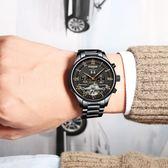 男士手錶 男鏤空陀飛輪機械錶 男錶 全自動精鋼防水夜光時尚2019新款
