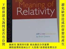 二手書博民逛書店The罕見Meaning of RelativityY24876