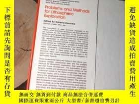 二手書博民逛書店英文原版《Problems罕見and Methods for Lithospheric Exploration》(