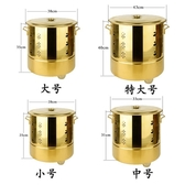 特厚不銹鋼燒金桶化金桶燒金爐聚寶爐