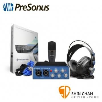 Presonus AudioBox 96 Studio 行動錄音套裝組【原廠公司貨 一年保固】 錄音介面/錄音界面