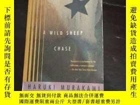 二手書博民逛書店英文原版罕見AWILD SHEEP CHASE MURAKAMIY254691