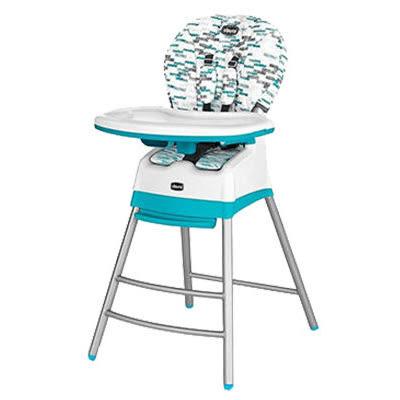 chicco Stack三合一多功能成長高腳餐椅(綠/藍)