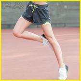 假兩件內搭褲 運動短褲女假兩件跑步雙層速干透氣健身防走光寬鬆熱褲