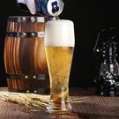 酒杯 啤酒杯6只套裝玻璃杯莫吉托杯大容量網紅雞尾酒杯子帶把家用【快速出貨八折鉅惠】
