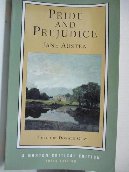 【書寶二手書T3/原文小說_BDD】Pride and Prejudice_Austen, Jane
