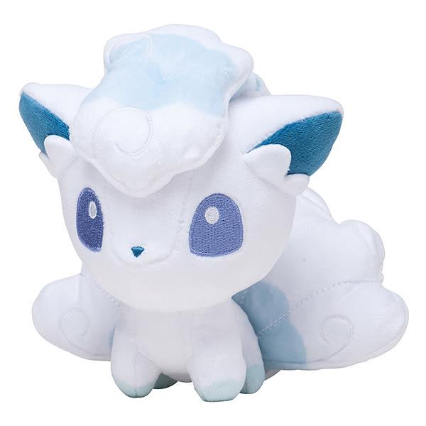冰六尾 絨毛玩偶 Pokemon 寶可夢 神奇寶貝 日本正品 S號娃娃 該該貝比日本精品 ☆