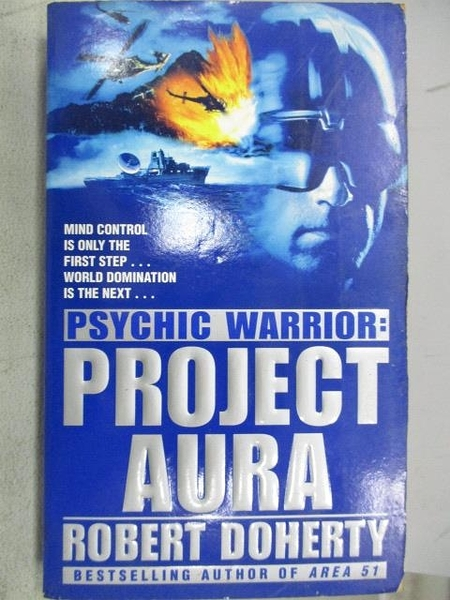 【書寶二手書T8/原文小說_CNF】Psychic Warrior: Project Aura_Robert Doherty