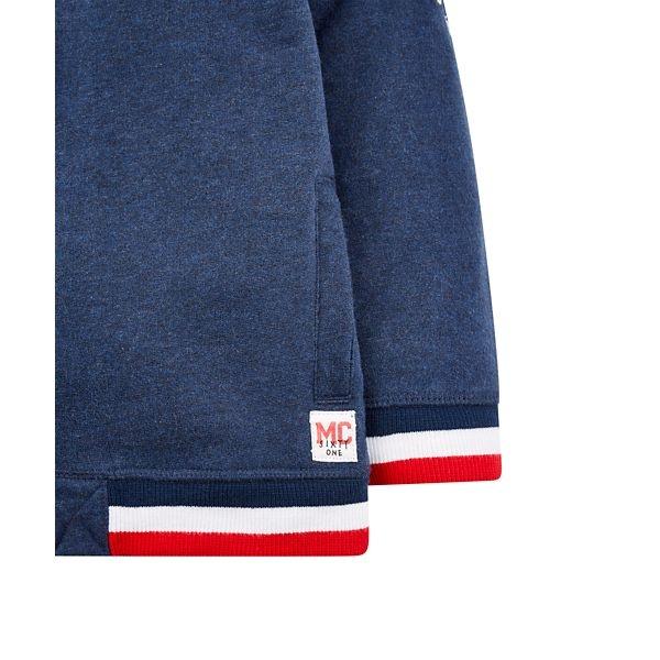 mothercare 藍色棒球運動外套-經典系列(M0QC050)3A~8A
