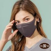 【岱妮蠶絲】時尚立體透氣蠶絲口罩(深灰)