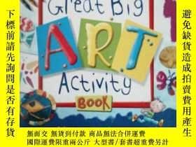 二手書博民逛書店The罕見great big art activity book