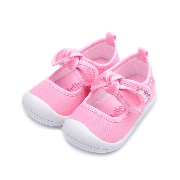 HELLO KITTY 蝴蝶結室內鞋 粉 719834 中小童鞋 鞋全家福