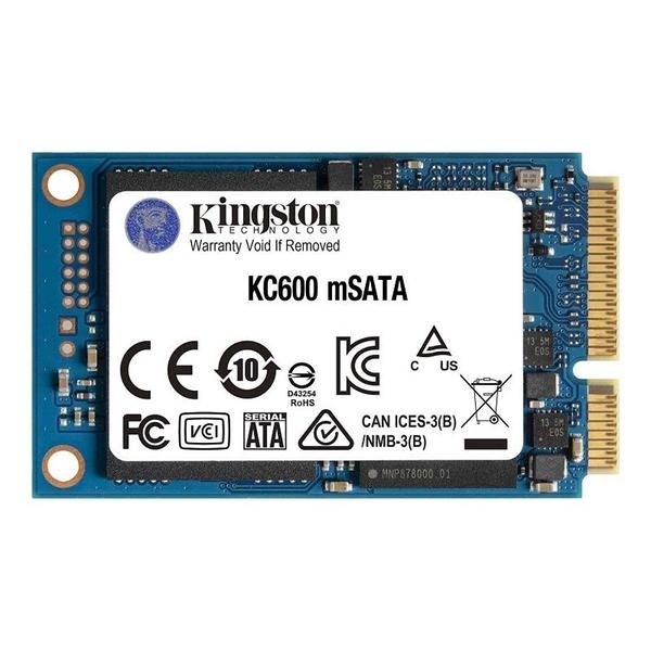 新風尚潮流 【SKC600MS/512G】 金士頓 mSATA SSD 512GB 固態硬碟 KC600 5年保固