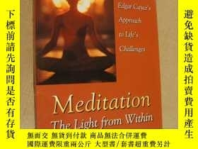二手書博民逛書店Meditation:The罕見light from within (Edgar Cayce s Approach