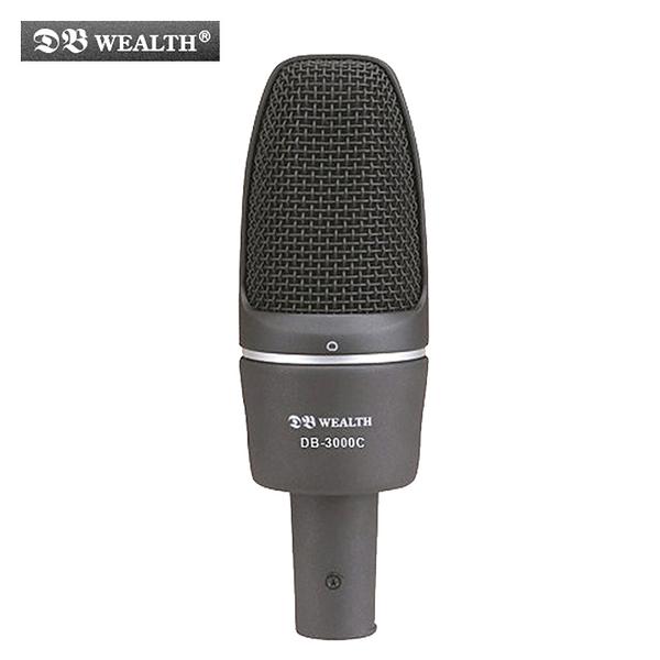 ★集樂城樂器★WEALTH DB-3000C 大膜片心型指向性錄音麥克風