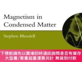 二手書博民逛書店Magnetism罕見In Condensed MatterY464532 Stephen Blundell