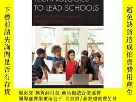 二手書博民逛書店Technologies罕見to Lead Schools: K
