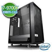 技嘉Z390平台【闇焱龍牙】i7八核 RTX2080Ti-11G獨顯 SSD 240G效能電腦