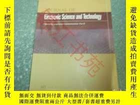 二手書博民逛書店Journal罕見of Electronic Science a