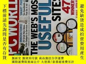 二手書博民逛書店PC罕見WORLD Magazine 2007年2月 英文個人電腦雜誌 可用樣板間道具雜誌Y14610