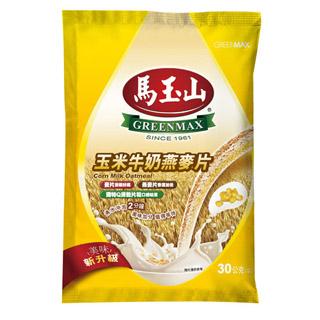 【馬玉山】玉米牛奶燕麥片(10入)
