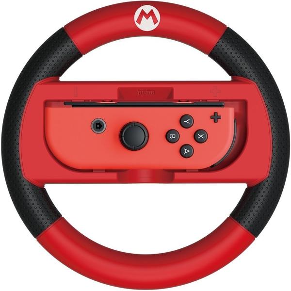 【玩樂小熊】任天堂Switch JoyCon用 NS HORI瑪利歐賽車 8 豪華版限定方向盤 紅瑪莉歐NSW-054