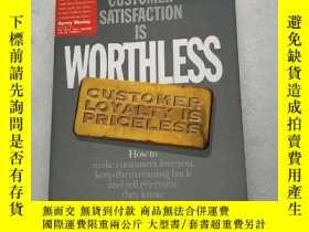 二手書博民逛書店Customer罕見Satisfaction Is Worthl