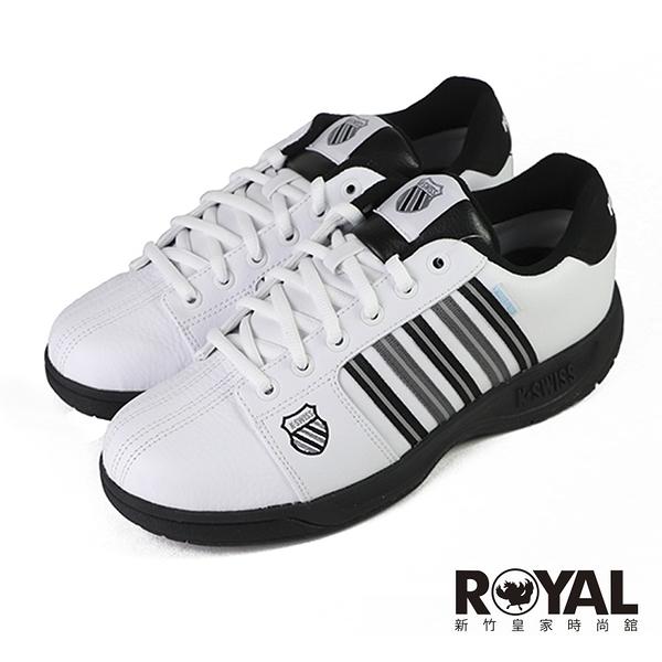 K-swiss Eadall 白色 皮質 防水 運動休閒鞋 男款 NO.B1762【新竹皇家 06781-157】