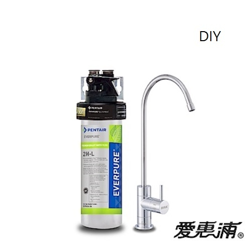 愛惠浦EVERPURE PurVive 2HL 極致精緻型淨水器(廚下型) ~ DIY