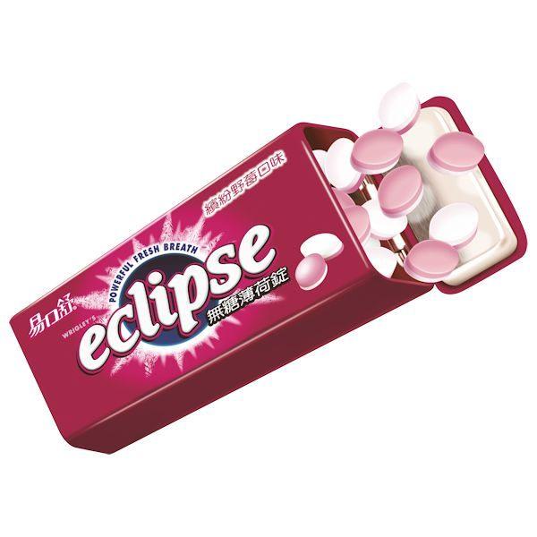 Eclipse 易口舒 無糖薄荷錠 繽紛野莓 31g【屈臣氏】