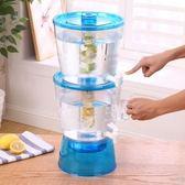 冷水壺 耐熱13L冷水壺大容量塑料耐高溫家用茶壺水壺飲料果汁壺紮壺帶蓋 全館85折