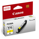 CLI-771XL-Y CANON  原廠黃色高容量墨水匣 MG5770、MG6870、MG7770