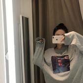 秋季2019新款韓國chic寬鬆百搭長袖T恤女學生圓領簡約上衣打底衫【星時代女王】