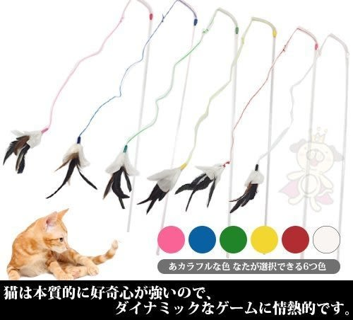 *KING WANG*美國VEE《火舞羽毛逗貓棒》VE00002 貓貓無法抗拒的羽毛
