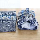 日式和風風呂敷便當盒飯盒包裹布餐巾餐布拍攝背景布隔熱墊