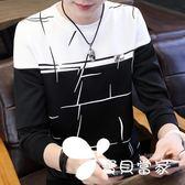 長袖 男士長袖T恤短袖潮流夏季上衣2018新款秋季衣服韓版秋衣學生衛衣