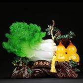招財白菜葫蘆擺件 工藝品家居酒櫃創意裝飾品開業禮品 韓慕精品 YTL