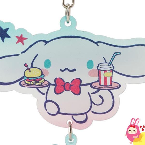 Hamee 日本正版 三麗鷗 繽紛暑假 半透明壓克力 鑰匙圈 吊飾掛飾 (大耳狗) 379654