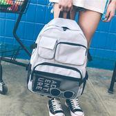 書包女韓版原宿雙肩包超火高中容量bf風學生大背包     糖糖日系森女屋