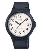 【僾瑪精品】CASIO 卡西歐 超輕薄感實用必備大表面指針錶/白面x黑數字/45mm/MW-240-7B
