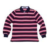 『小鱷魚童裝』經典條紋POLO衫(08號~20號)530111