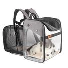 大號便攜貓包秋冬外出寵物太空艙透明貓咪背包外帶可拓展雙肩書包 夢幻小鎮