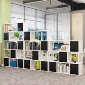 文件櫃木質辦公室隔斷櫃資料櫃書櫃書架格子櫃組合置物儲物展示櫃  科炫數位
