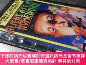 二手書博民逛書店Aliens罕見ate my homework(英文原版32開精裝)Y16472 Bruce Coville